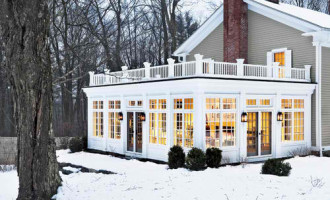 Outdoor Living farmhouse-exterior