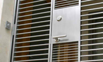 Security Doors modern-entry