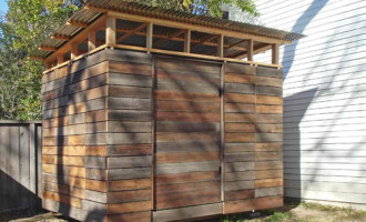 Storage Shed modern-garage-and-shed