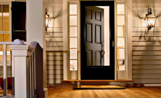 Storm Doors farmhouse-entry