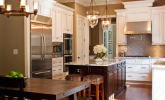 We Can Make it Look traditional-kitchen